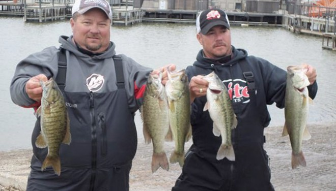 Tommy & Tony Climer win Club Championship with 26.25 lbs