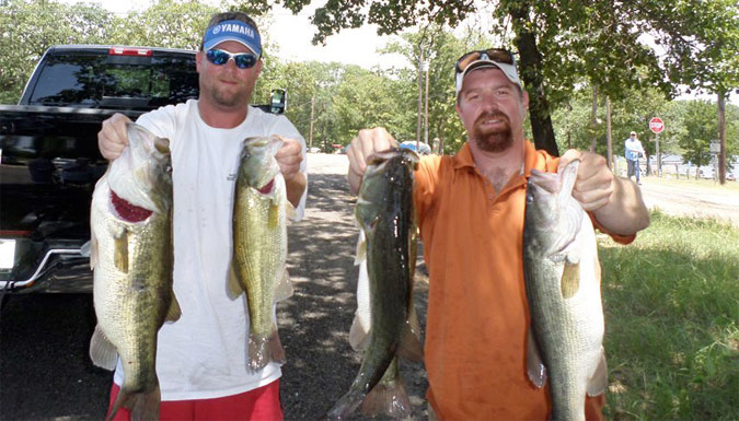 Jason Hunnicutt & Travis Reaves win Cedar Creek with 19.81 lbs