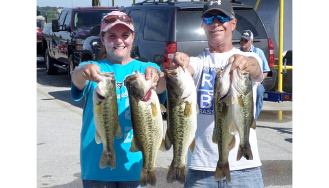 Dale Rettman & Kelly Millhollon win Lake Tyler with 18.47 lbs