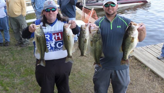 Chris Atkinson and Tom Brouillette win Lake Palestine with 20.95 lbs