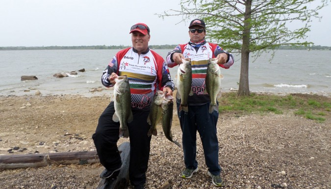 Preson Smith and David Horton Win Tawakoni with 21.45 LBS