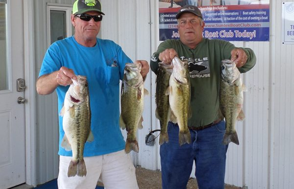 Walter Archer and Jeff Meier win RHBC 2017 Open Tournament with 22.83 LBS