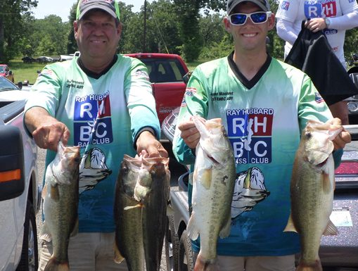 Dennis and Damon Machost win Cedar Creek with 18.10 pounds!