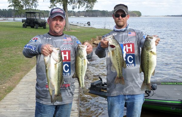 Ronnie Manning and Capp Peace top 43 boats at Cypress Springs with 17.21 pounds.